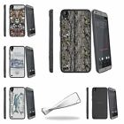For HTC Desire 530 | Desire 630 Slim Flexible Clear TPU Case Outdoor Fishing