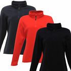 Regatta Ladies Micro Fleece Half Zip Brushed Jacket Womens Long Sleeve New