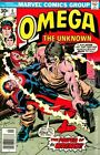 Omega The Unknown (1976) #6 FN