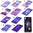 Luxury Rubber Soft TPU Pattern Blu-ray Back Case Cover Skin For Smartphone Phone