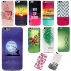 Ultra-Thin Rubber Silicone Soft TPU Back Case Cover For Apple iPhone 6 6s Plus