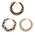 new hot Woven Statement Necklace Choker Pendant Collar Chain Necklace Jewelry