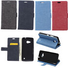 JL For Alcatel Blackberry HTC Samsung phone Cloth Wallet Card Case Stand Cover