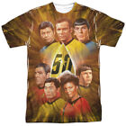 Star Trek Anniversary Crew Allover Sublimation Licensed Adult T Shirt on eBay