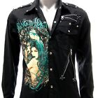 Rock Band Long Sleeve Shirt Rockabilly Punk Music Heavy Metal Tee Many Size LANC