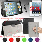 Fit All Models Ipad Mini Smart Case Cover Stand W/ Hand Strap + Accessories Gift