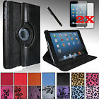 For Apple iPad MINI 3, 2, 1 High Qality PU Leather Case Cover Stand+Films+Pen