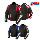 ARMR Moto Ikedo Motorcycle Motorbike Scooter Waterproof Textile Armoured Jacket