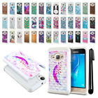 For Samsung Galaxy J1 J120 2nd Gen / Luna Studded Bling HYBRID Case Cover + Pen
