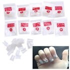 500 PCs Acrylic French False Duck Toe Nail Art Tip Set Porcelain Clear Natural