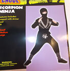 Scorpion Ninja Black Silver Child Costume S M L NIP
