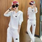 2016 fashion sportswear, sports pants leisure two-piece pure color clothes