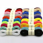 100/120/140cm Kids Adult Causal Sports Flat Colorful Coloured Shoelaces Sports