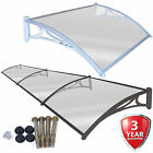 Door Canopy Smoking Area Rain Shelter Outdoor Awning Window Cover Sun Protector