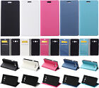for HTC Nokia Huawei LG phone Sands wallet Card Leather Case Stand Skin Cover KS