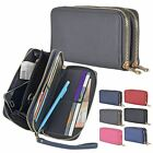 Kyпить Womens Darby Long Purse Coin Card Smartphone Holder With Wrist Strap Double Zip на еВаy.соm