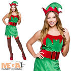 Enchanting Elf Ladies Christmas Santas Helper Fancy Dress Party Costume UK 6-24