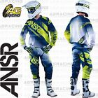 Answer 2017 Youth Kids Syncron Air White Navy Acid Jersey Pants Gloves Combo MX
