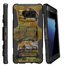 For Samsung Galaxy Note 7 N930 Holster Clip Stand Case Big Game Fishing Bass