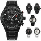 SHARK Men's Silicone / Steel Strap Sport Watch 12/24Hrs Calendar Quartz Watches