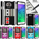 For Samsung Galaxy Alpha G850F Case Hard Snap On 2 Piece Gaming Controllers