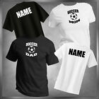 SOCCER (Pick Family Member) & Personalize T-Shirt All Adult Sizes XS - 6XL_