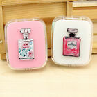 Pocket Perfume pattern Contact Lens Case Storage Box Travel Kit Container Holder