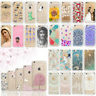 Cute Clear Silicone Jesus Christ Maria Case Cover For iPhone 5 5S SE 6 6S Plus