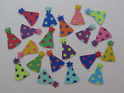 Small Layered Party Hat Die-cuts in Colour Choices - Paper Crafts, Decorations