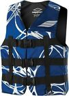 Slippery Phoenix Nylon Vest Navy Blue/Silver