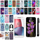 "For Motorola Moto G4 XT1625 G4 Plus XT1644 5.5"" TPU SILICONE Case Cover + Pen"