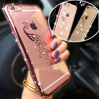 Diamond Bling Glitter Jewelled Silicone Soft Case Cover For iPhone 7 Plus 6S 6 7