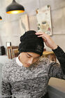 Mens Boys Warm Hats  Winter Knitting Wool Hat for Unisex Caps Outdoor New