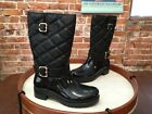 Bare Traps Dolly Black Quilted Waterproof Rainboots Snow Boots NEW