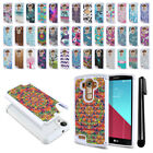For LG G4 H815 F500 VS986 H810 Anti Shock Studded Bling HYBRID Case Cover + Pen