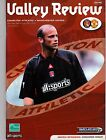 CHARLTON ATHLETIC HOME PROGRAMMES 2002/2003