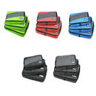 3PCS Travel Storage Bags Clothes Packing Luggage Organizer Pouch Waterproof Lot