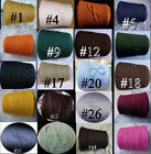 *FREE SHIP* Quality 6/2 Cotton Cone Yarn Color Choices Knitting Weaving Crochet