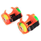 Safety Kids Roller Skates Heel Wheels Child Speed Skating Shoes With Flash Light