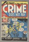 Crime Does Not Pay (1942) #85 GD 2.0 LOW GRADE