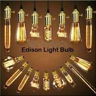 E27 Bulb 40W Vintage Retro Industrial Edison Tungsten Light Warmwhite