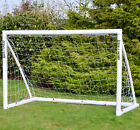 "Wollowo Football Soccer Goal ""Lock Together"" Model UPVC Posts Training Net"