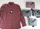 mens shirts chaps casual long sleeve button up accessory pocket cotton blend