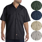 Dickies Men's Short Sleeve Button Down Work Shirt