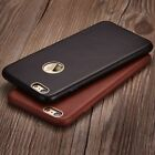 Luxury Vintage Ultra-thin Genuine Real Leather Case Cover for iPhone 6 6s 7 Plus