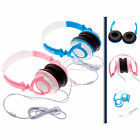 Folding Travel Kids DJ Style Headphones suitable for Kurio Tab 2 7""
