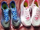 Womens athletic running shoes Puma Faas 250 Black White pink blue new Size 8.5 9