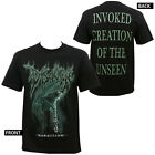 Authentic DISGORGE Nebnilram Invoked Creation of The Unseen T-Shirt S-3XL NEW