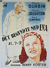 IT STARTED WITH EVE/ 21701/ DEANNE DURBIN/ 1941/ HENRY KOSTER/ / POSTER