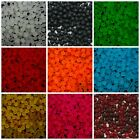 4mm 6mm 8mm Frosted Round Glass Beads Jewellery Craft Beading Uk Seller Ml